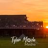 70  G Barn Sunset