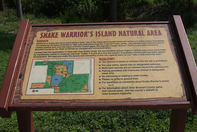 Snake Warrior's Island Natural Area, Miramar, Fla., July 11, 2011
