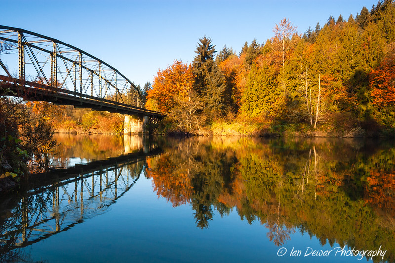 Old Tolt Hill Bridge in the Fall