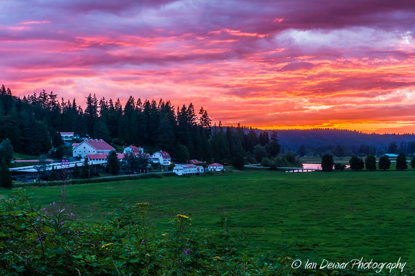Snoqualmie Valley Sunset