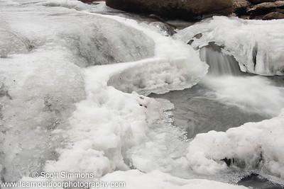 Frozen Daniels Cascade