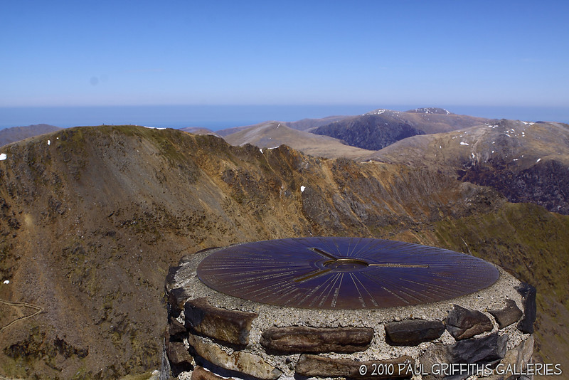 Just to prove I got to the top - view from the peak next to the Trig Point