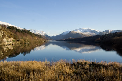 Snowdon from NW end of Llyn Padarn