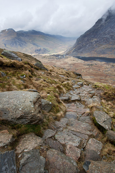 LOOKING DOWN NAT FRANCON VALLEY