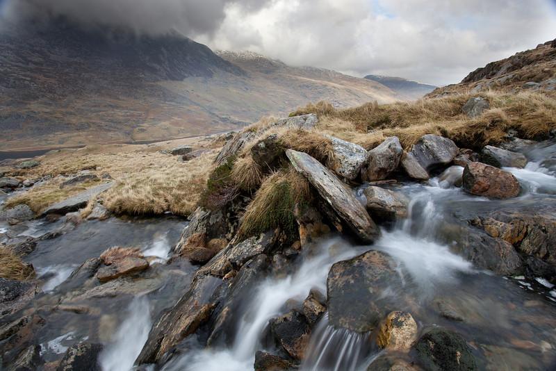 Waterfalls below  Llyn Bochlywd  #17