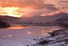 SNOWDON SUNSET  #2