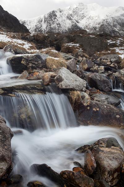 Llyn Bochlywd Waterfall 2012  #2
