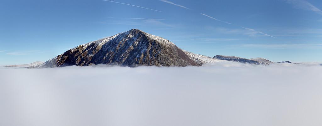 Pen-Yr-Ole-wen Cloud Inversion