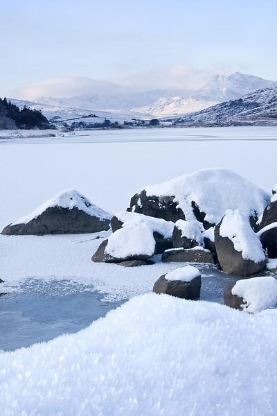 SNOWDON ICE CRYSTALS