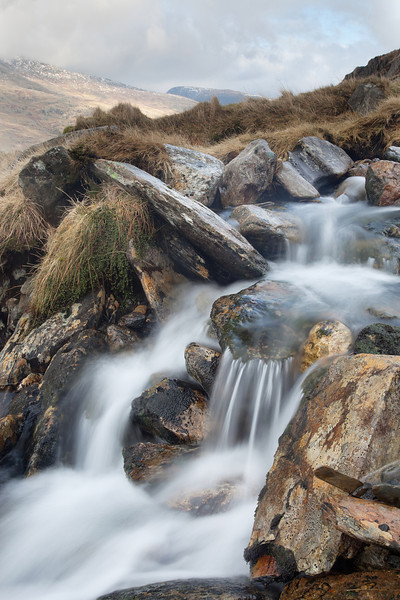 Waterfalls below  Llyn Bochlywd 2