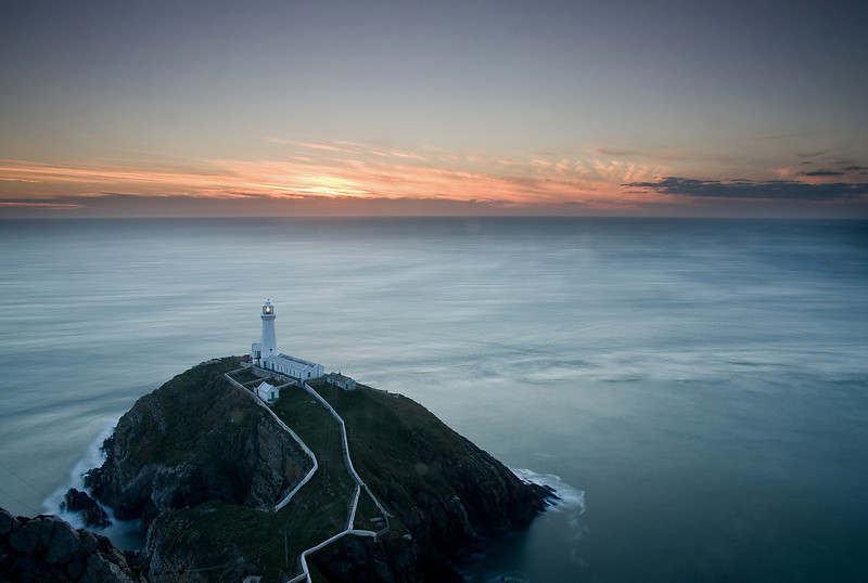 SOUTH STACK SUNSET  #5