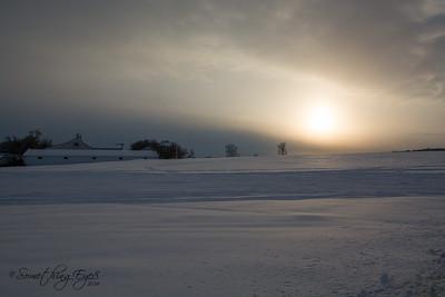 Snowscape, March, 2015