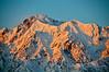 Sunrise on Japanese Alps