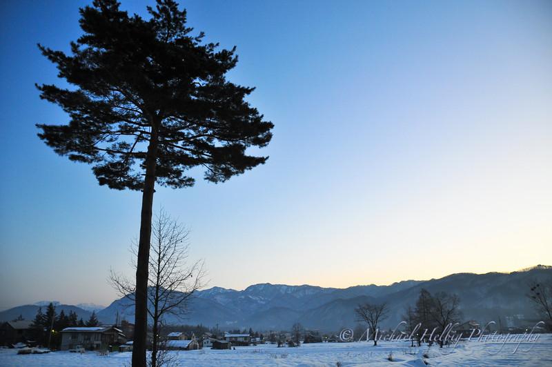 Sunrise - Hakuba