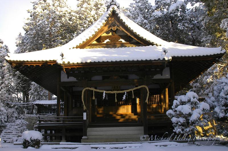 Snow in Hiroshima