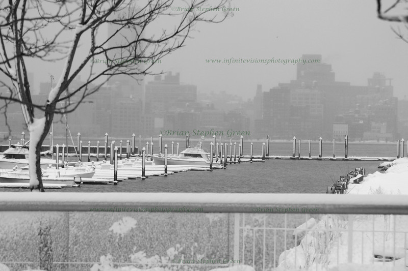 """Snow in the Harbor"""