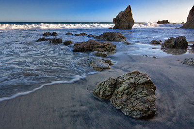 Late afternoon, El Matador Beach
