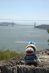 From highest point on Angel Island in San Francisco Bay, CA