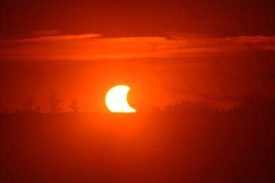 Solar Eclipse Oct 23, 2014