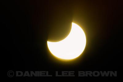 Solar eclipse, 5-20-12. Shot from Sierra Valley, Plumas Co, CA. Full frame images.