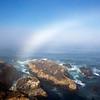 """Fogbow"" at coast"