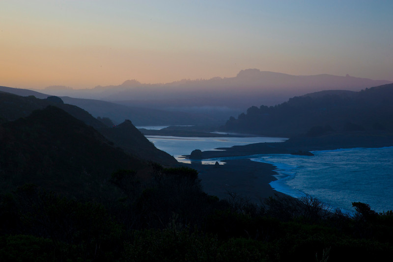 Sunrise, mouth of Russian River