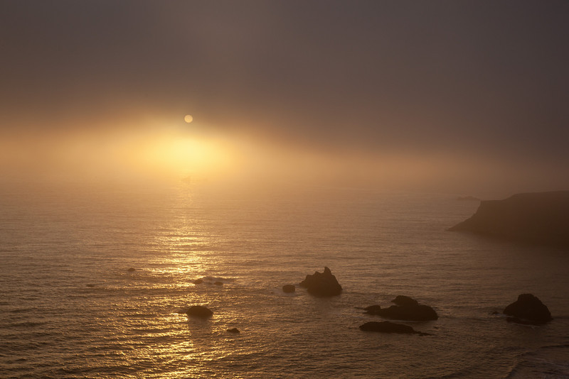 Sunset at Goat Rock