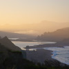 Sunrise at mouth of Russian River