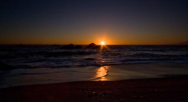 Portuguese Beach Sunset