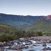 Drakensberg - Amphitheatre Sunrise 2, Tugela River