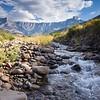 Drakensberg - Amphitheatre, Tugela River 3