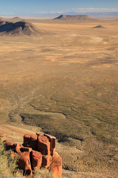 Elandsberg viewpoint  looking towards Volmoersfontein, Tankwa Karoo National Park