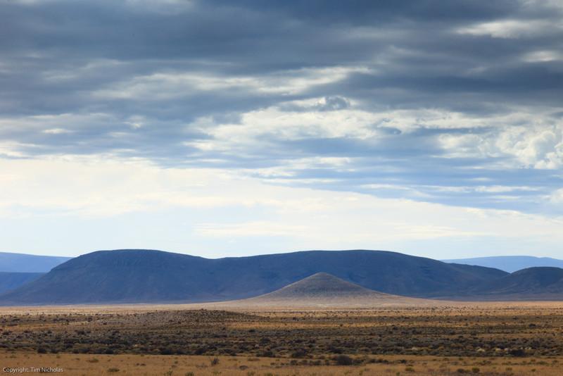 Tankwa Karoo National Park, early morning, near Volmoersfontein