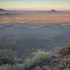 Sunrise, looking out from Elandsberg lookout towards Volmoersfontein. Tankwa Karoo National Park