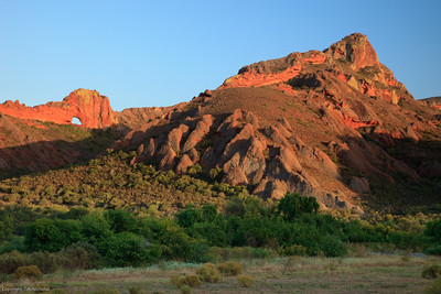 Little Karoo: Sunrise on the Redstone Hills