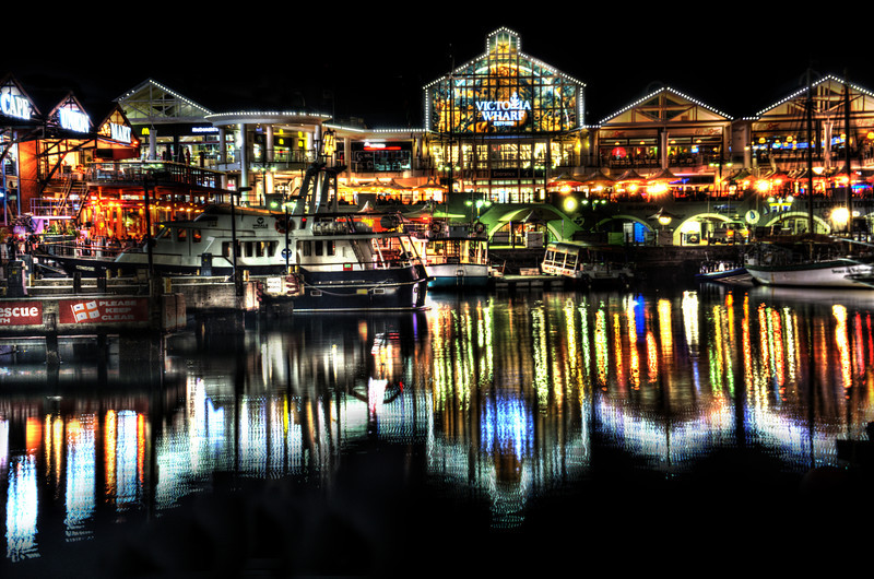 Waterfront at Night