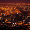 Cape Town at night from Signal Hill