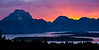Tetons Sunset - Wyoming