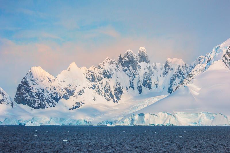 The Grand White Landscape Of Antarctica
