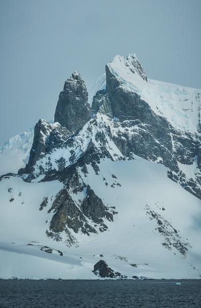 The Tall Granite Walls Of Antarctic