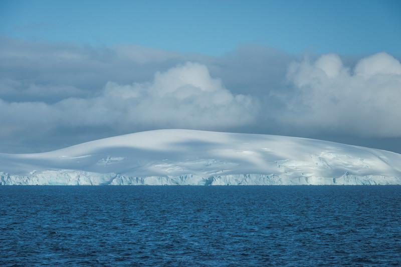 Shades Of Cloud On Iceberg