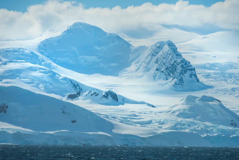 The Pure Textures Of Antarctica Snow -  Cuverville Island, Antarctica
