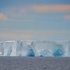 Giant Iceberg With Numerous Chambers