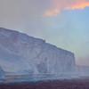 A Solid Line Of Iceberg Walls - Iceberg Alley , Hope Bay,  Antarctica Sound,  Antarctica