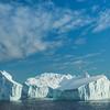 Floating Iceberg Homes At Sea
