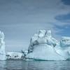 Blocks Of Ice Floating Around