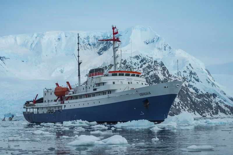 The Ushuaia Ship In Ice