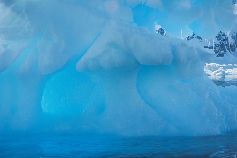 Inside An Iceberg