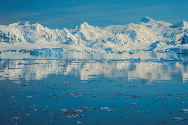 Pure White Reflections On Danco Island