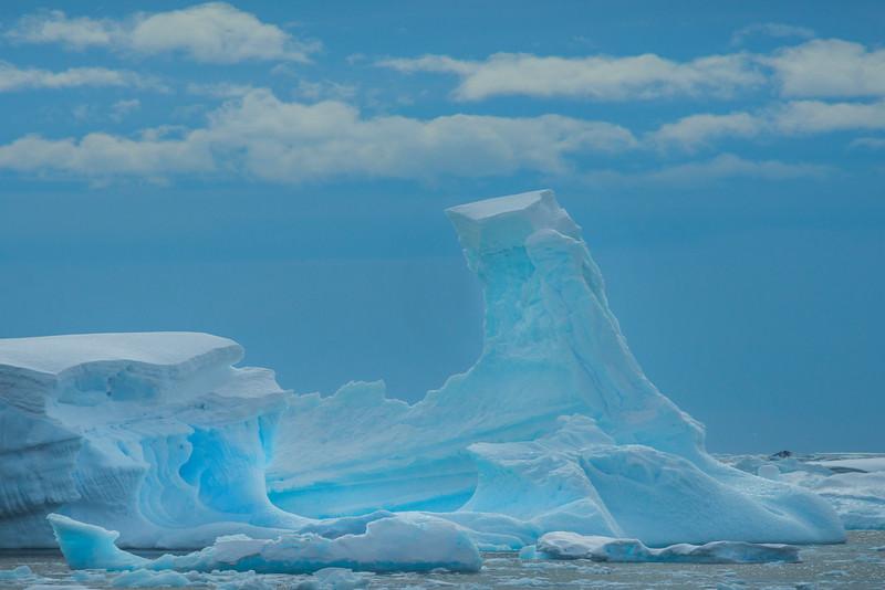 Floating Blue Ice